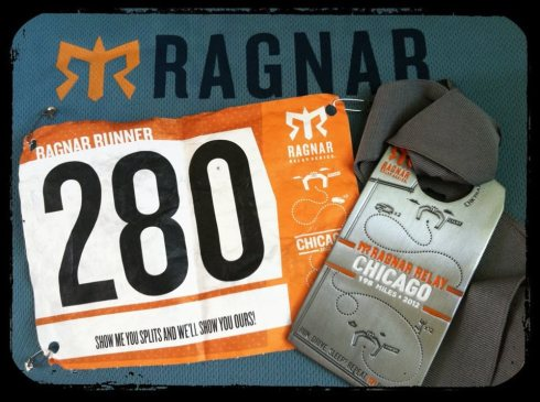 Ragnar Relay Chicago 2012 medal